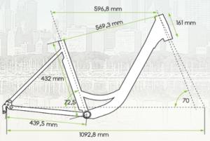 mestský elektrický bicykel Traffic