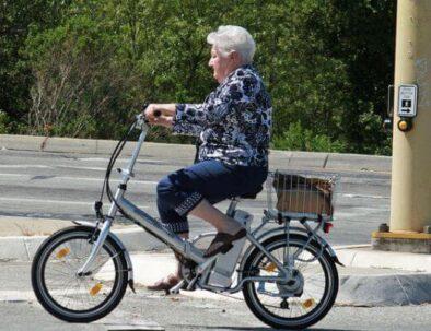 Elektricky bicykel pre seniorov