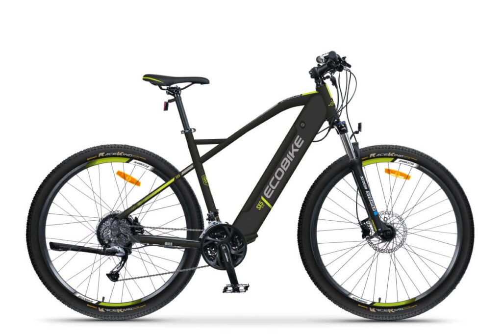 Horský elektrický bicykel pre vysokých ľudí