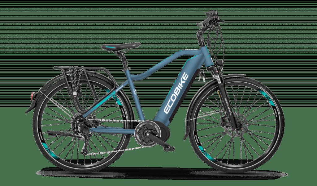 trekingový elektrický bicykel